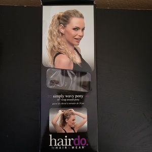 "Hairdo by HairUWear 18""Simply Beach Wavy Pony Wrap"